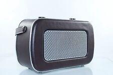 Dual NR11 Lederoptik Nostalgie Radio FM-Tuner-Lautsprecher POSTEN GROSSHANDEL
