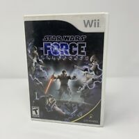 Star Wars: The Force Unleashed Nintendo Wii Game Complete With Manual Tested