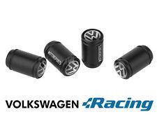 VOLKSWAGEN Motorsports Noir Roue Valve poussière Caps. GTI VR6 GOLF POLO