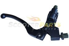 Black Clutch Lever Grip Parts For 80cc 85cc Honda CR80 CR85 Dirt Pit Moto Bike