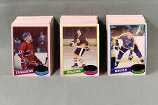 1980-81 TOPPS Hockey Stars Commons Rookies U-Pick Near Mint U-Choose UNSCRATCHED