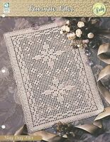 May Day Filet Doily Crochet Pattern - Favorite Filet HOWB Collector Series
