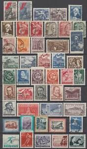 POLEN Polska 1953 kompletter Jahrgang zB Satz Marx, Kopernikus.. Mi 791-836 €251