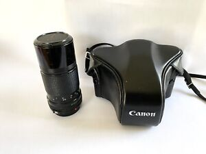 Canon AE1 Camera With 2 Canon Original Lenses, Japan