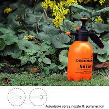 3L Portable Pressure Water Sprayer Pump Hand hold Bottle Garden Trigger Water