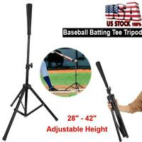 Baseball Softball Batting TEE Tripod T Stand MLB Practice Training Hitting Ball