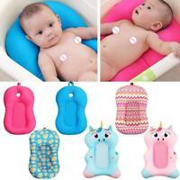 Portable Baby Non-Slip Bath Cushion Bathtub Mat Infant Safety Seat Support
