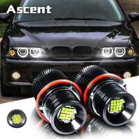 2pcs 160W Xenon White Color LED Angel Eyes Ring Marker Bulbs For BMW E39 E60 E63