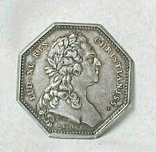 1/ JETON MÉDAILLE - France Louis XV Comita flandriae wallonensis Argent 1769