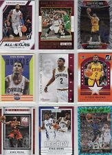 NBA Kyrie Irving Rookie Insert Jersey and Refractor Basketball Card Lot - 22