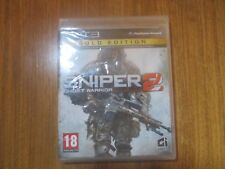 Sniper 2 Ghost Warrior (Gold Edition) ~~ Jeu PS3 Neuf