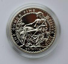 2005 Britannia 2 Pounds £2 Silver 1oz Coin