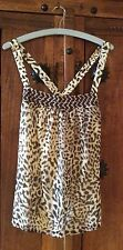 NWOT Banana Republic Women's Leopard Pattern Top M