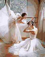 Diy oil painting paint by numbers kits for adult Home decoration Ballet 40*50cm