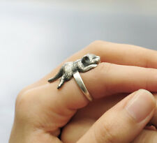 Lazy Cat Ring Sleeping Napping Cat Animal Ring Free Shipping  Adjustable AR-44
