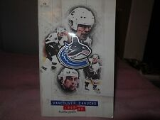 1998-99 vancouver canucks media guide