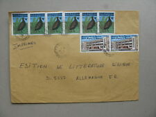 CAMEROON/CAMEROUN, cover to Germany 1985, bird perdrix