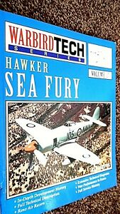 WARBIRD TECH SERIES #37: HAWKER SEA FURY / Kev Darling (2002)
