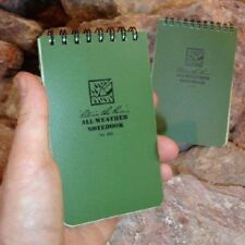 Rite in the Rain All Weather Notebook 3x5 Green