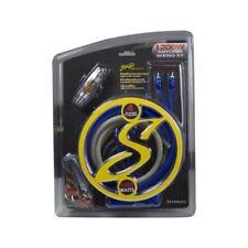 Stinger 4 Gauge Amp Kit OFC Copper Wire 1200 Watt SS1200XS Amplifier Install Amp