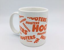Hooters Orange/White Collectable Coffee Mug Cup