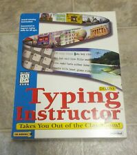Deluxe Typing Instructor Cd-Rom for Windows 3.1 / 95