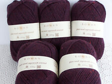 500g (33,00€/kg) Wollpaket ROWAN pure wool superwash worsted Fb184 - 100% Wolle