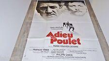 ADIEU POULET ! p dewaere lino ventura  affiche cinema vintage 1979