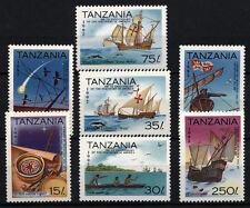 (W0136) TANZANIA, U/M (MNH), SHIPS/COLUMBUS 1992