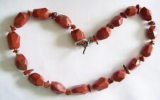 Chunky Red Jasper Lovely Necklace