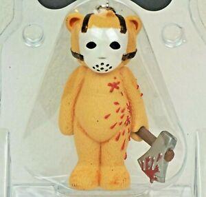 Bad Taste Bears Keychain JASON Horror Friday the 13th BTB Figurine Halloween
