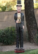 6' DOC HOLLIDAY Cigar Store Figure Sculpture 6 foot by Frank Gallagher SPECIAL