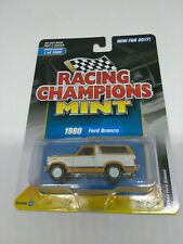 2017 RACING CHAMPIONS MINT 1/64 SCALE ORANGE METAL 1980 FORD BRONCO 1 OF 1800