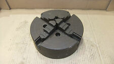 """9"""" Four Jaw Chuck, Not Colchester Lathe, Backplate Mounting."""