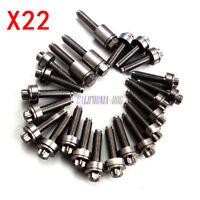 22X Valve Cover Screw 11120409288 For BMW 330i 325i 530i 530xi 525xi Engine