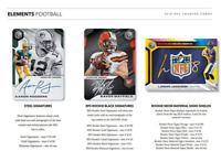 2019 PANINI ELEMENTS FOOTBALL LIVE RANDOM PLAYER 1 BOX BREAK