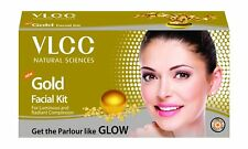 3 PACK OF VLCC GOLD FACIAL KIT FOR GLOW & RADIANT SKIN WITH FREE SHIPPING COST
