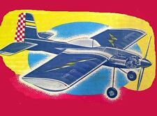 "Model Airplane Plans (UC): Veco TOMAHAWK 40"" Profile Stunt for .19-.35 (1950)"