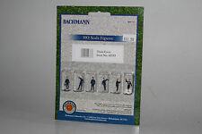 Bachmann Ho Scale Figures For Layout-Train Crew-New In Box