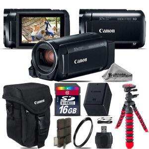 Canon VIXIA HF R 800 57x Live Streaming Camcorder + Case + 16GB - Starter Bundle