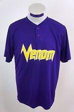Augusta Sportswear Mens Purple Yellow Venom Shirt Size Medium