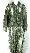 Underbrush Mossy Oak Hunting camouflage Body Suit (Head/Chest/Legs) Size L/ XL