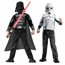 Star Wars Stormtrooper & Darth Vader Costume Box Set - Star Wars Disney - New