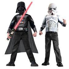 Star Wars Storm trooper & Darth Vader Costume Box Set - Star Wars Disney - New