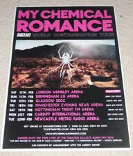 my chemical romance CONCERT POSTER live music show gig tour poster - tour