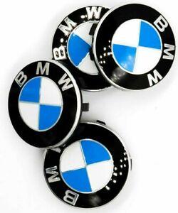 4x 56mm BMW Original 3613 6850834 Wheel Centre Caps G30 G31 2er F45 F46 X1 F48