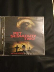 Pet Sematary Two,film Soundtrack,limited Edition Cd Of 1000