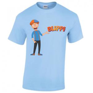 Blippi Kids Cartoon TV T-shirt