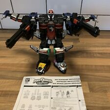 Power Rangers SPD DX Supreme Swat Space Patrol Megazord Both Guns & INSTRUCTIONS