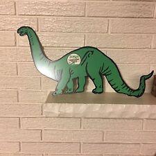 "Dino Dinosaur Sinclair Oil Gas Station Sign Logo Heavy Metal Sign New 13"" x 23"""